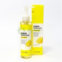 Secret Key Lemon Sparkling Cleansing Oil, Очищающее масло, 150 мл