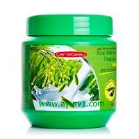 Питательная укрепляющая маска для волос с рисовым молочком от Carebeau / Carebeau Rice Milk Hair Treatment / 500 мл