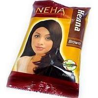 Натуральная хна для волос Неха Коричневая/ Herbal Neha, Brown/ 20 гр.