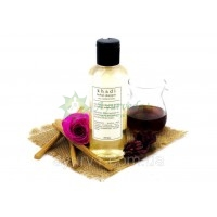 Шампунь Роза, сандал и мед / Khadi herbal shampoo rose, sandal & honey / 210 мл