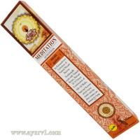 Аромапалочки Благовония пыльцовые, медитация, Meditation, Sree Vani 15 г