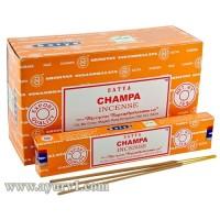 Аромапалочки Благовония  пыльцовые ЧАМПА, Сатья Satya CHAMPA 15 г