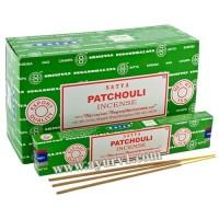 Аромапалочки Благовония  пыльцовые ПАЧУЛИ, Сатья Satya PATCHOULI 15 г