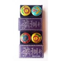 Сухие духи, Наг - Чампа, в латунной баночке / Magic of India / 6 г.