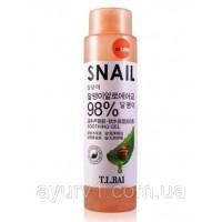 Тоник с улиточным муцином и алоэ Snail & Aloe Soothing Gel, 98%, 200 мл., / Таиланд, Belov / 200 мл