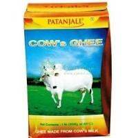 Гхи. Чистое коровье топленое масло сделаное из коровьего молока, Патанджали / Patanjali/ 200 мл