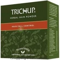 Маска против выпадения волос с натуральной хной Тричуп / Herbal hair powder, Trichup / 1 пакетик по 30 г.