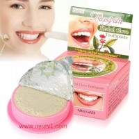 Тайская зубная паста круглая с гвоздикой, Исми / ISME RasYan / 25 г